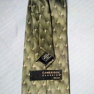 Cambridge Classics Accessories - Cambridge Classics 100% Silk Tie